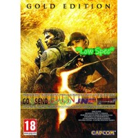 RESIDENT EVIL 5 GOLD EDITION CD DVD GAME PC GAMING PC GAMING LAPTOP