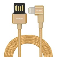 USB Vivan Gaming Lightning iphone 5 6 7 82.4A Fast Charging Bergaransi