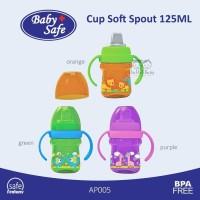 Baby Safe Cup Soft Spout 125 Ml - Botol Minum Bayi Dengan Spout