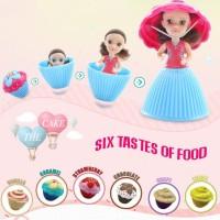 Mini Cupcake Princess Surprise Doll Mainan Anak Perempuan Unik Berubah
