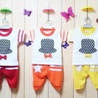 Setelan Baby 1-2thn Retro Baju Anak Murah All size