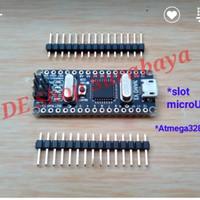 Nano Atmega328P-AU CH340 microUSB Arduino Clone Robotdyn