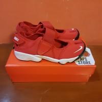 Sepatu Nike Air Rift Merah Wanita Premium Original