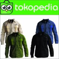 Baju/ Kemeja Pdl Lapangan Tactical Gunung Lengan Panjang Bandung 511