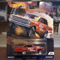 Hot Wheels 63 Chevy Nova - Drag Strip Demons