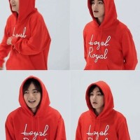 Jaket/Sweater/Hoodie Tumblr Loyal Royal/Hoodie KPop Loyal Royal V BTS