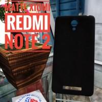 CASE BLACK MATTE XIAOMI REDMI NOTE 2