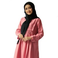 Tunik Rampel Dusty Pink