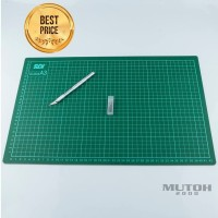 Cutting Mat SDI A3 + Cutter Pen Import
