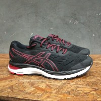 asics gel cumulus 20 black red original