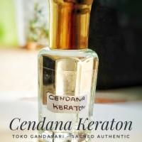 Minyak CENDANA KERATON 12ml wangi murni non alkohol bibit parfum