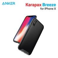 Casing Anker Karapax Breeze for iPhone X Gray - A9016HA1