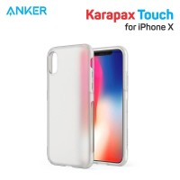 Casing Anker Karapax Touch for IPhone X Clear - A9004H01