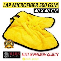 "Lap Microfiber ""Mads Overkill"" 500 gsm 40x40 cm"