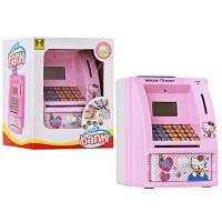 Mainan Edukatif -Edukasi Anak -Celengan ATM Bank uang tabungan mini