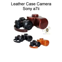 Camera Case Leather For Sony a7ii with 28-70mm 24-70mm Lens