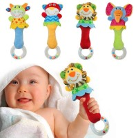 Rattle Stick Baby Cans Mainan Kerincingan Bayi Model Boneka Hewan