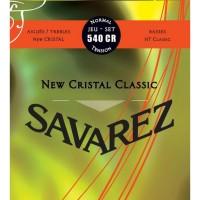 Savarez 540 CR New Cristal Classic Senar Gitar Klasik Normal Tension