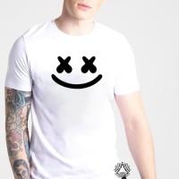 T5282 Kaos Tshirt Baju Combed 30S Distro EDM Marshmello Grade Ori