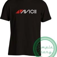T5064 Kaos Tshirt Baju Combed 30S Distro DJ EDM Avicii Grade Ori