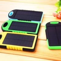 PowerBank Tenaga Surya/Matahari - Power Bank Solar Cell