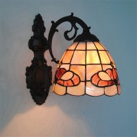 Art Nordic Shell Lamp Shade Lustre Vanity Wall Light Fixtures