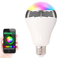 BL-05 Bluetooth Color Changing LED Light Bulb with Speaker