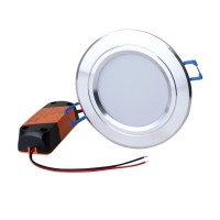 ZHISHUNJIA 3.5inch 6W SMD 5730 24LED Dimming Embedded Down Lamp -