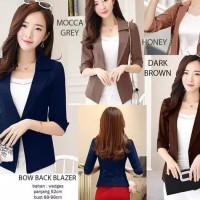 Bow Back Blazer