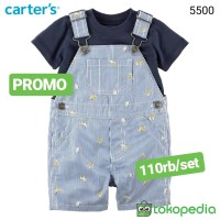 2in1 Navy baby overall 5500