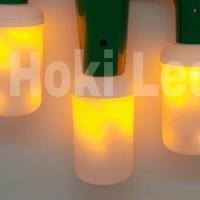 lampu api led e27 lampu obor api taman obor led 9 watt flame fire