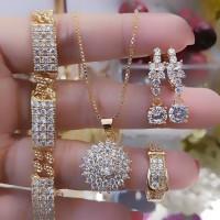 xuping set perhiasan lapis emas 24k 22006