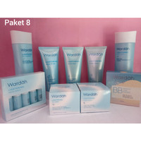 Wardah Lightening Series paket 8