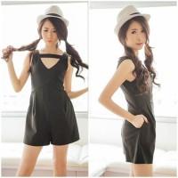 Jumpsuit Overall Celana Pendek Baju Blouse Pakaian Wani