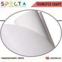 SPECTAFLEX STICKER MASKING TAPE POLYFLEX ( 1 METER ) PRINTABLE /VINYL