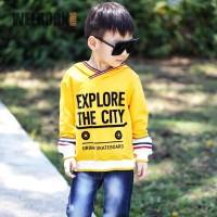 Welborn Kids Sweater Kuning Explore The City Anak Laki