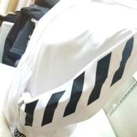 Special Product Jaket Hoodie Off White Premium Cotton - Putih Terlaris