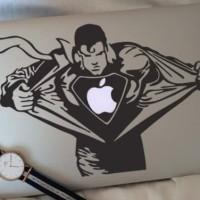 Decal Macbook Sticker Superman