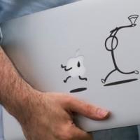 Decal Sticker Macbook I Catch You