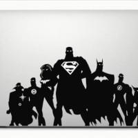 Decal Macbook Sticker Justice League