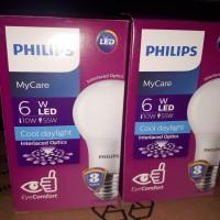 Lampu LED Bulb Philips 6 Watt