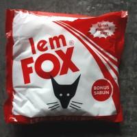 Lem Fox putih 800 gram | bonus sabun