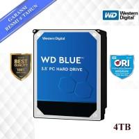 "WD Caviar Blue 4TB - HD / HDD / Hardisk Internal 3.5"" for PC"