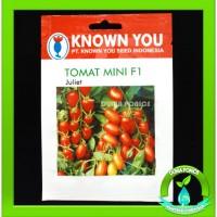 Benih TOMAT Cherry Mini F1 JULIET Known You Seed 25 Butir Benih Seed