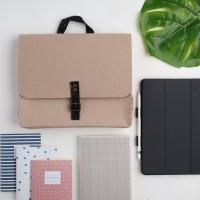 UCHII Felt Hand Bag Tab File Portable Folder | Tas Mobile Unisex Kulit