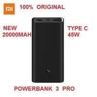 Xiaomi New Powerbank 3 Pro 20000mAh 45W Type C Fast Charging Original