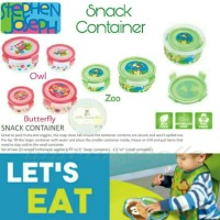 Stephen Joseph Snack Container - Butterfly