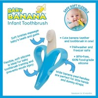 Baby Banana Toothbrush for infant Blue