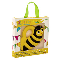 SILLI CHEWS Baby Teether - Bee