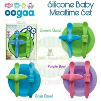 Oogaa Silicone Mealtime Set (Green)